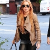Lindsay Lohan is seen in Gramecy on September 18, 2013