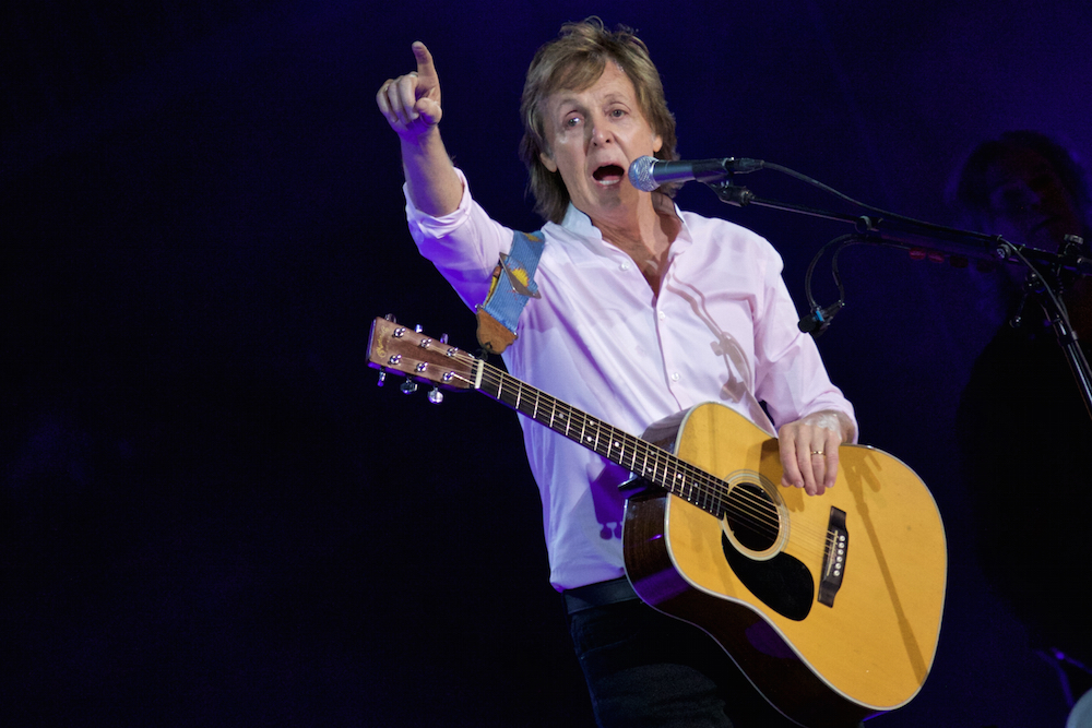 Image result for Paul McCartney shines on