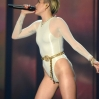 Miley Cyrus performs onstage during the MTV EMA's 2013