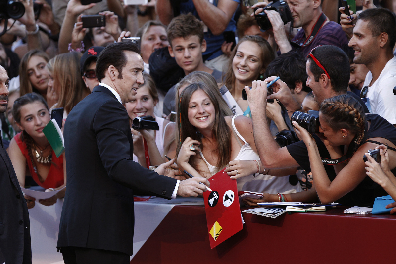 70th Venice Film Festival - 'Joe' - Premiere - Red Carpet