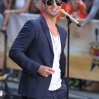 Robin Thicke performs during the NBC Toyota Concert Series on the 'Today' show