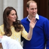 Catherine, Duchess of Cambridge and Prince William, Duke of Cambridge, leave St Mary's hospital with their new baby daughter Featuring: Catherine Duchess of Cambridge, Princess of Cambridge, Prince William Duke of Cambridge Where: London, United Kingdom When: 02 May 2015 Credit: David Sims/WENN.com