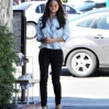 Selena Gomez eats lunch at Kabuki Japanese Restaurant in Woodland Hills with friends. Gomez, sporting a button down shirt, had a wardrobe malfunction when her shirt opened up slightly, exposing side-cleavage while heading back to her car.Featuring: Selena GomezWhere: Los Angeles, California, United StatesWhen: 14 Mar 2014Credit: Cousart/JFXimages/WENN.com