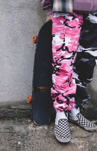 Gunner Pants in City Pink