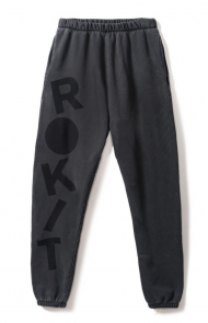 Rumble Sweatpant in Black Sand