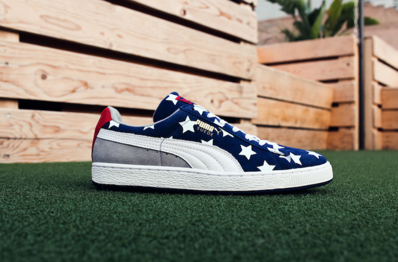 The Puma Suede Americana Collection