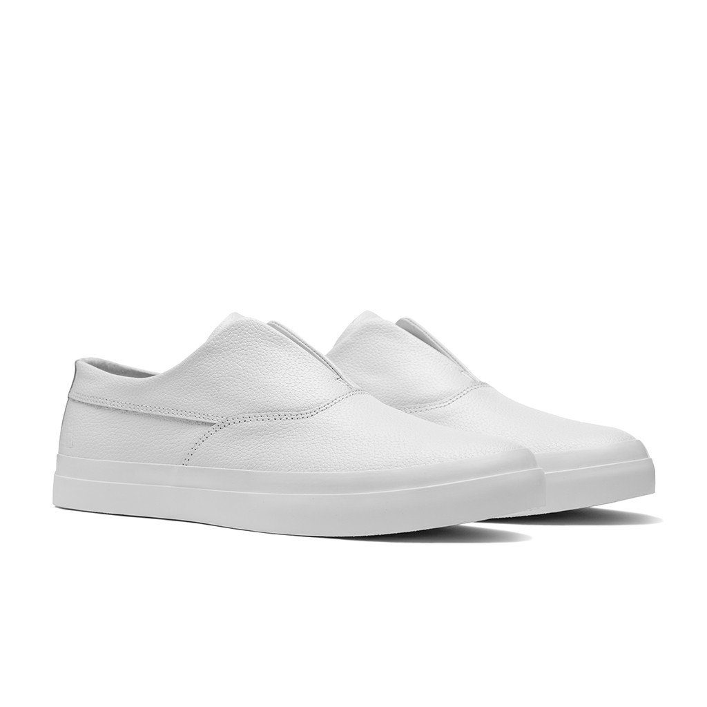 Huf, Dylan Slip On // White Leather