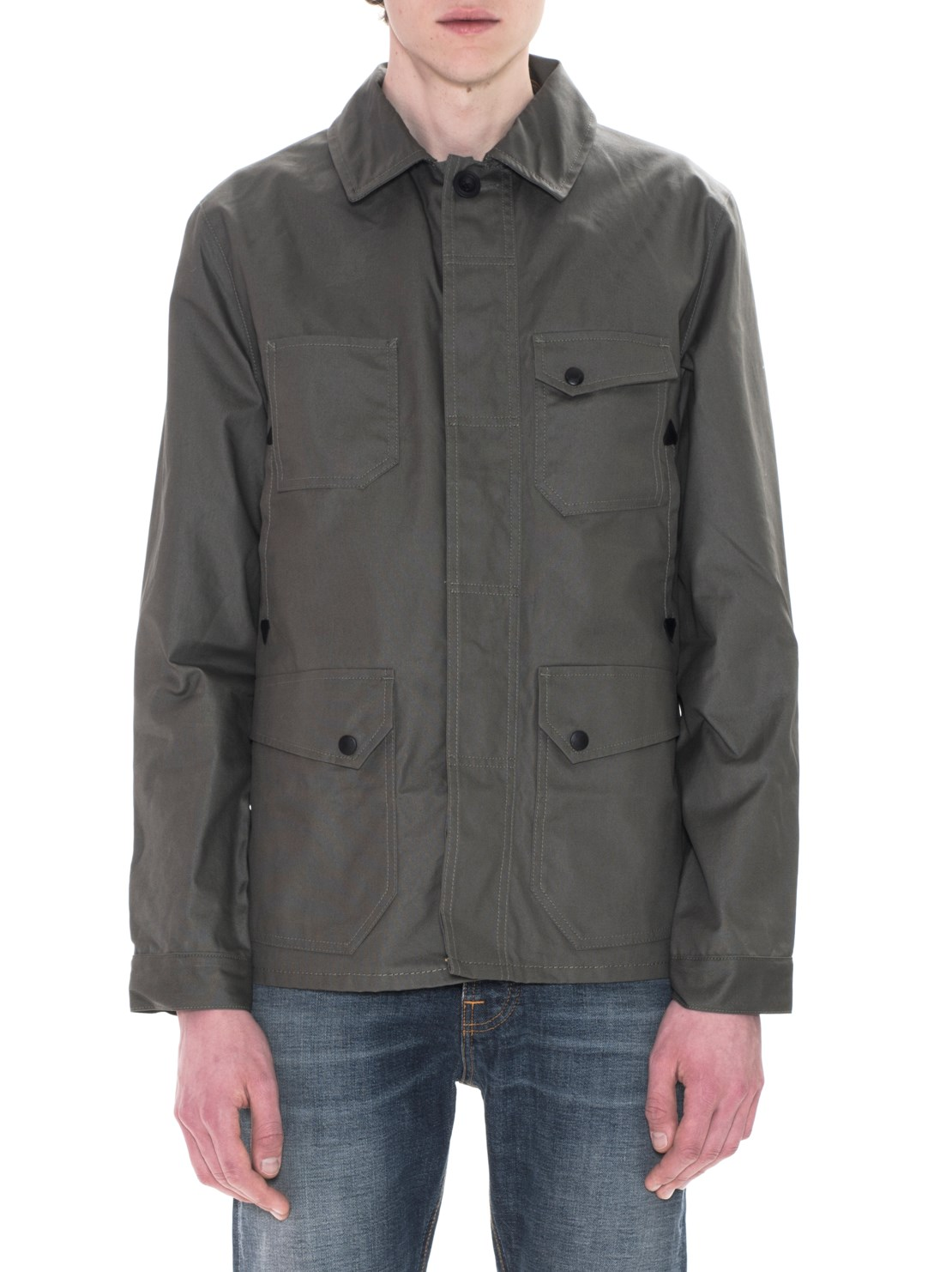 Nudie Jeans - Ethan Waxed Jacket Olive