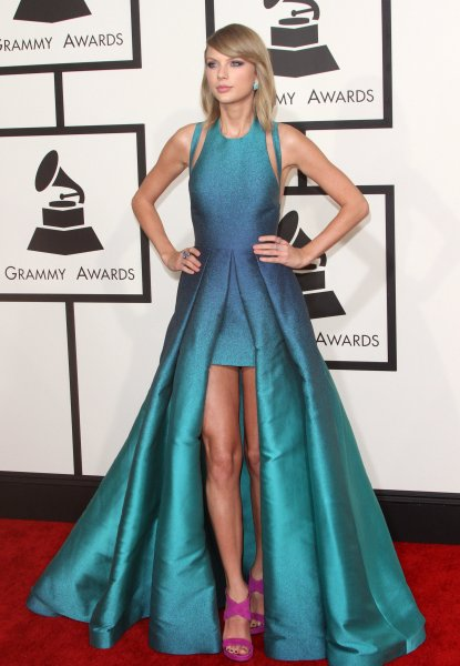 57th Annual GRAMMY Awards held at the Staples Center - Red Carpet Arrivals Featuring: Taylor Swift Where: Los Angeles, California, United States When: 08 Feb 2015 Credit: Adriana M. Barraza/WENN.com