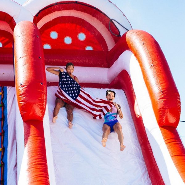 Taylor Swift July 4th Party