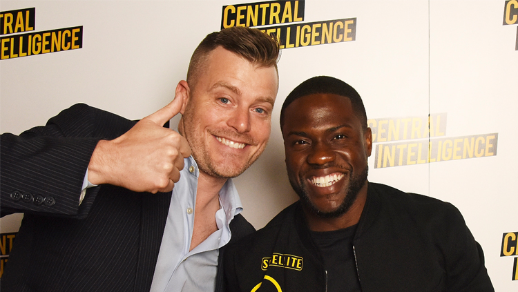 The 'Central Intelligence' Director Does The B-Movies Podcast!