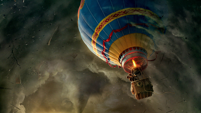 20. The Balloon Ride, from Oz the Great and Powerful