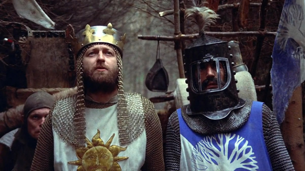 6 - Monty Python and the Holy Grail (dirs. Terry Gilliam & Terry Jones, 1975)