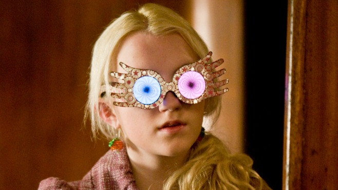 HONORABLE MENTION: Luna Lovegood, Announcer of Quidditch