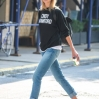 Karlie Kloss on her way to New York UniversityFeaturing: Karlie KlossWhere: New York City, New York, United StatesWhen: 03 Sep 2015Credit: WENN.com
