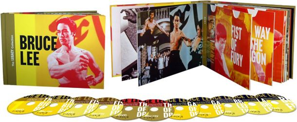 Bruce Lee Legacy Collection Blu-ray