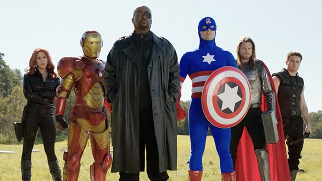 The Starving Games Avengers