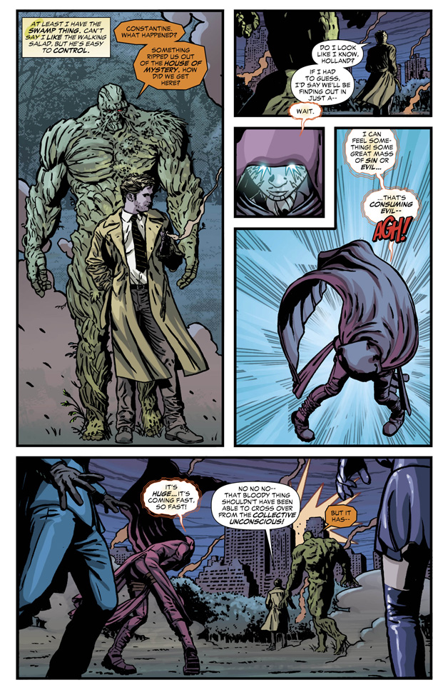 Constantine #9 Preview 3