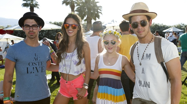 FIJI Water At Lacoste L!VE Coachella Desert Pool Party , Day 1