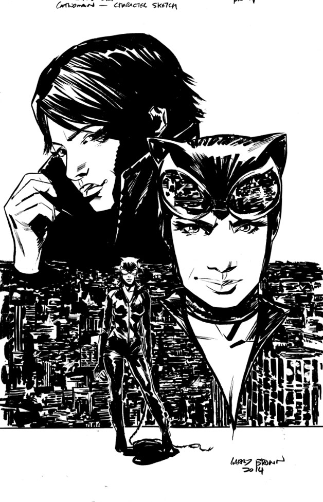 Catwoman - Garry Brown