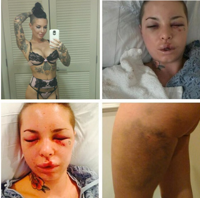 The Tragic Love Story Of Christy Mack and MMA Fighter War Machine.