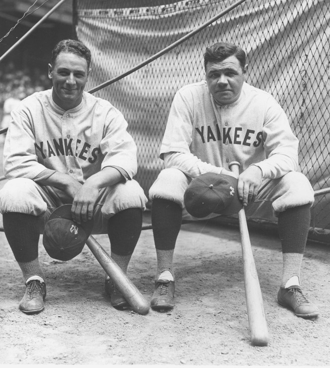 Lou Gehrig/Babe Ruth