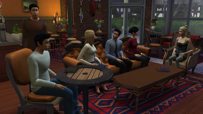 The Sims 4 went for a far more