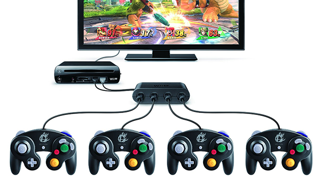 Wii U Can Connect to Two GameCube Adapters at Once for 8