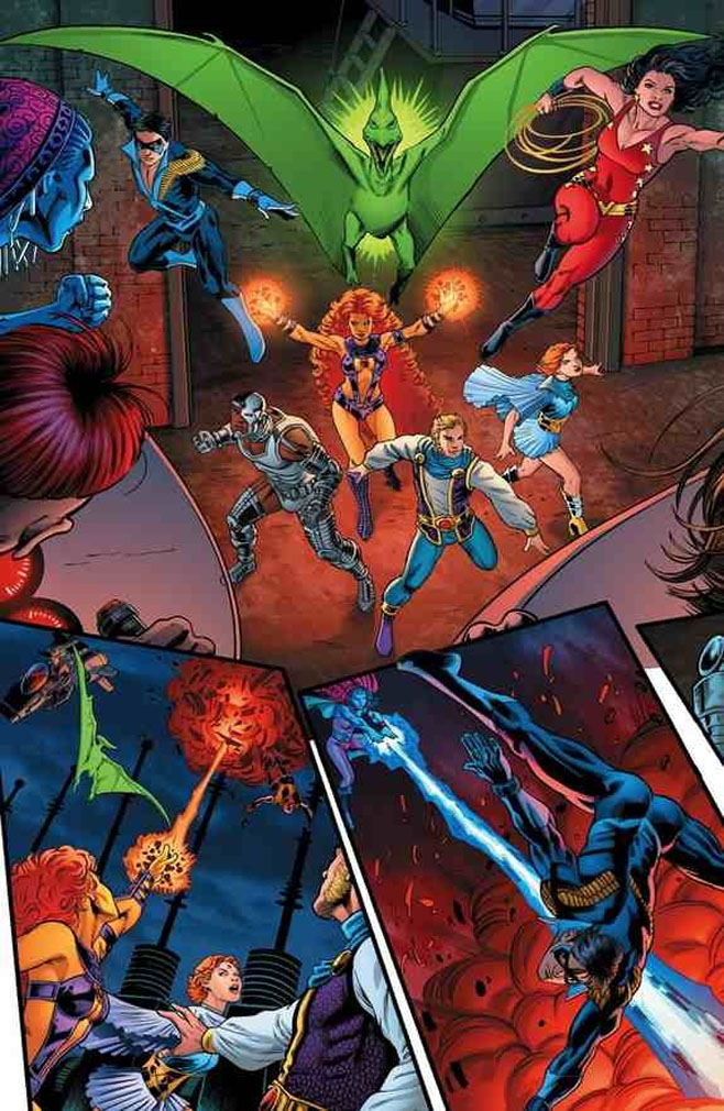 New Titans Convergence