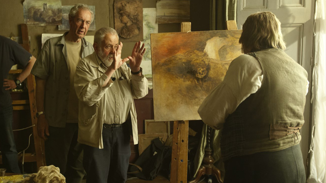 Mike Leigh Mr Turner 2014