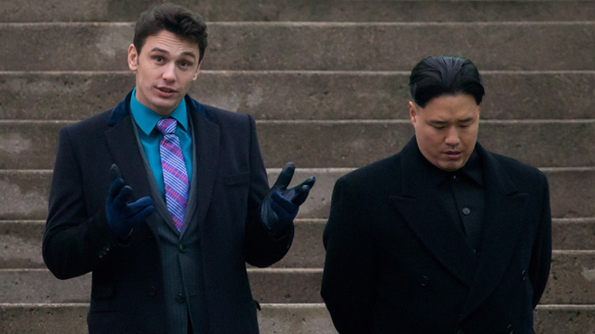 The Interview James Franco Randall Park