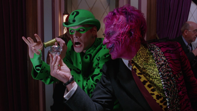 Batman Forever Riddler Two-Face