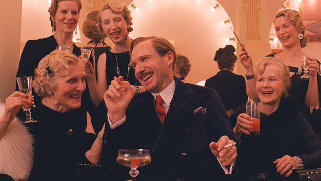 Wes Anderson The Grand Budapest Hotel Ralph Fiennes