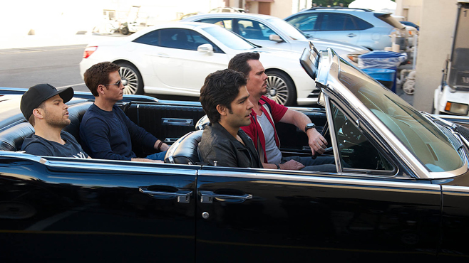 Entourage Cast Photo by Claudette Barius
