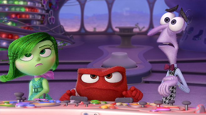Inside Out Disgust Anger Fear
