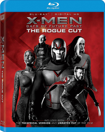 X-Men Days of Future Past The Rogue Cut Blu-ray