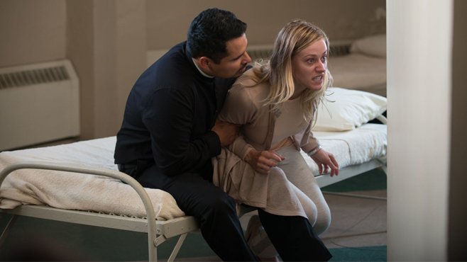The Vatican Tapes Michael Pena Olivia Taylor Dudley