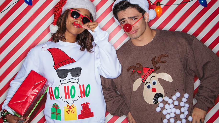 Kitschy Christmas Sweaters