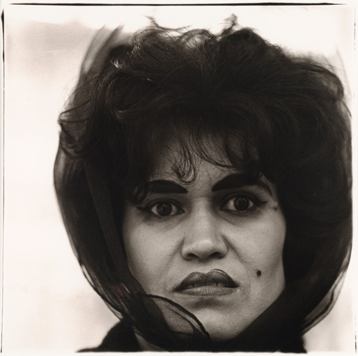 Puerto Rican Woman With Beauty Mark, Copyright Diane Arbus Estate