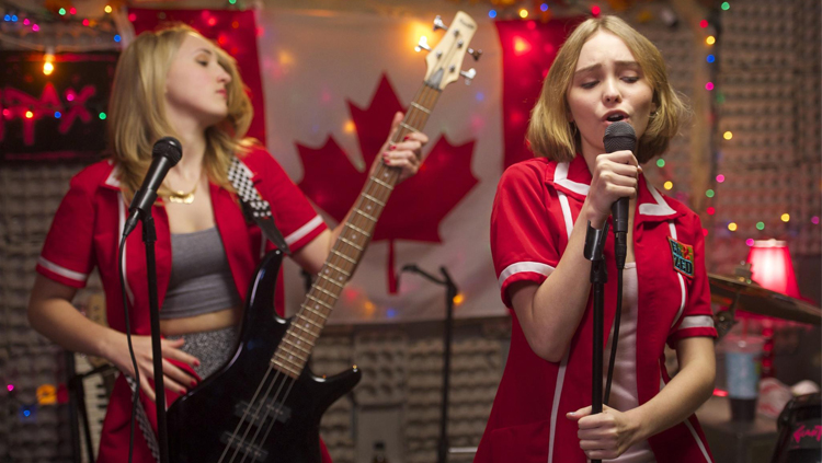Harley Quinn Smith and Lily-Rose Depp in Yoga Hosers, Courtesy of Sundance Institute