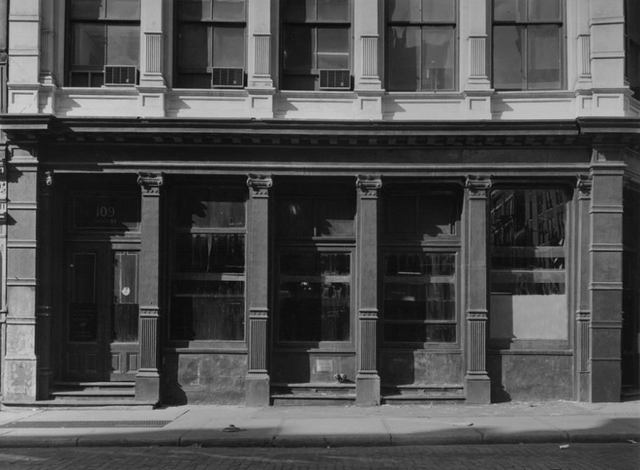 bdav-180 109 prince st., new york, 1975