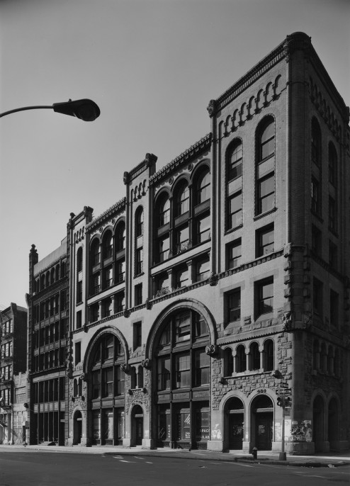 bdav-250 broome + wooster st., new york, 1975