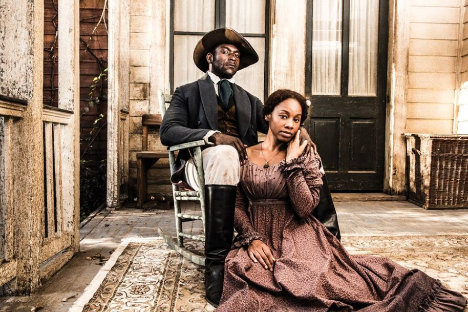 Michael James Shaw as Marcellus and Marcellus Anika Noni Rose as Kizzy.