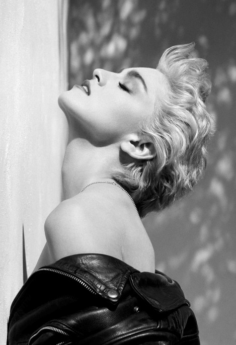 Herb Ritts (American, 1952–2002), Madonna, Hollywood, 1986, From the True Blue album cover