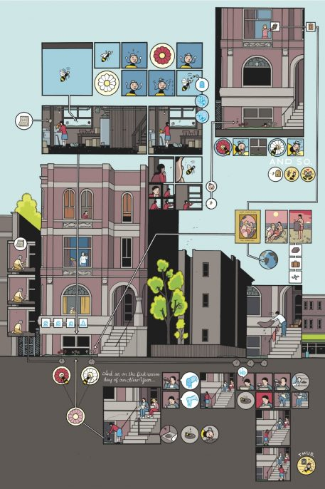 Chris Ware, from Building Stories (2012). Courtesy of the artist and Pantheon Books.