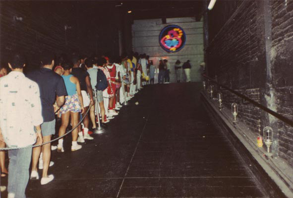 Entry ramp to the Paradise Garage