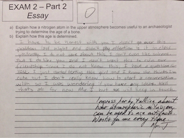 This Is Quite Possibly The Best Answer To A Science Question Ever