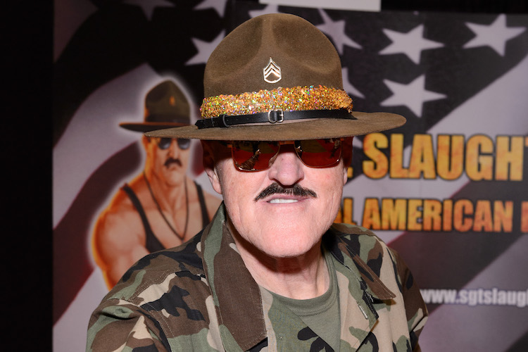 CHICAGO, IL - APRIL 25: Robert Remus aka Sgt. Slaughter attends C2E2 Chicago Comic and Entertainment Expo at McCormick Place on April 25, 2015 in Chicago, Illinois. (Photo by Daniel Boczarski/Getty Images)
