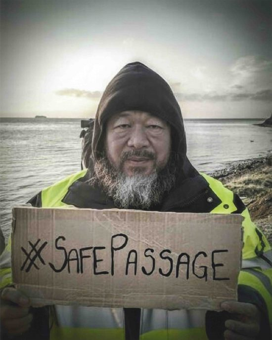 #SafePassage, 2016 © Ai Weiwei Studio