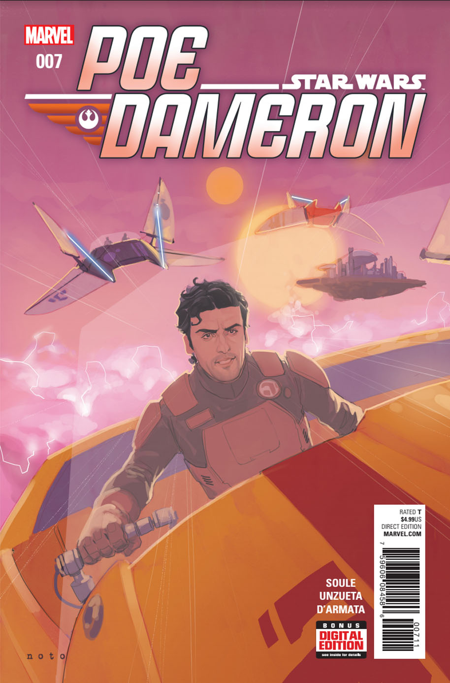Star Wars Poe Dameron 7 Cover 1